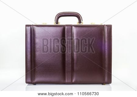 Business Leather Briefcase.