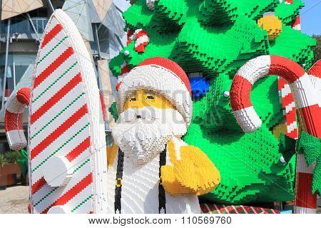 Melbourne Christmas Santa claus Australia