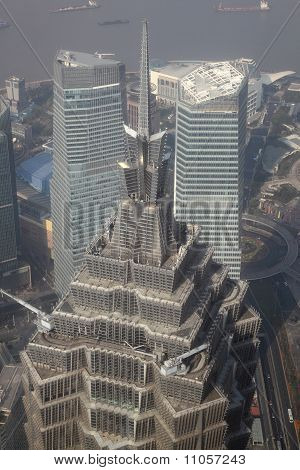 Jin Mao Tower in Shanghai China
