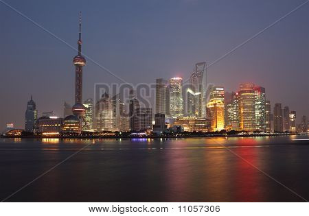 Skyline Of Pudong, Shanghai