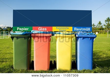 Recycling Bin Trash Garbage