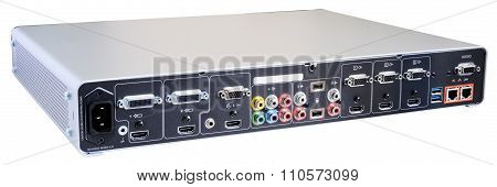Digital Video Recorder Back View