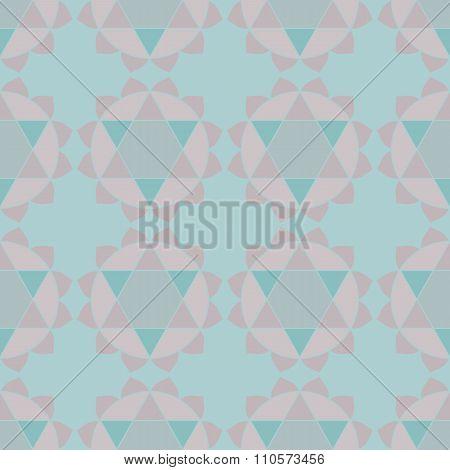 Ethnic mandalas geometric seamless pattern