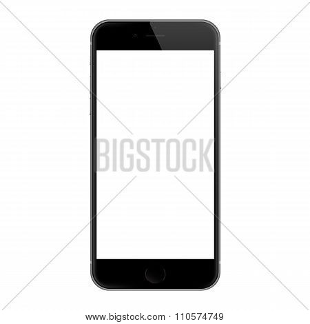 Realistic iphone 6 blank screen, iphone 6 developed by Apple Inc.