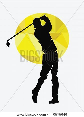 Vector - Illustration of golf icons