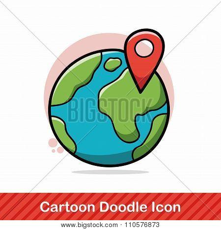 Globe Doodle