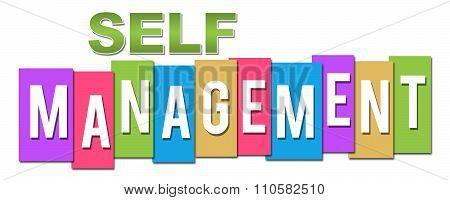 Self Management Colorful Stripes