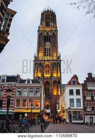 Dom Tower in Utrecht