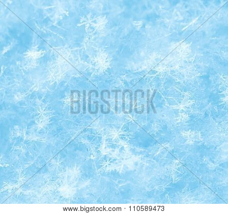 Snowflake Ice Crystals Background
