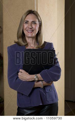 Mature Friendly Businesswoman