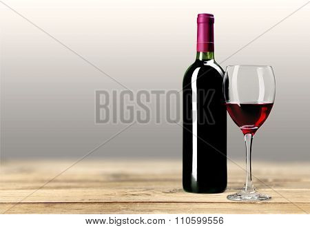 Wine Bottle.