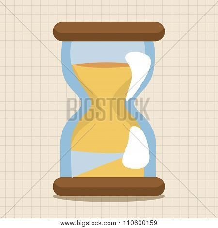 Hourglass Loading Icon Theme Elements
