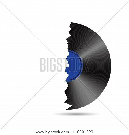 Abstract Music Background Vector Illustration for your Design.
