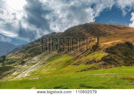 Khevsureti mountains Georgia