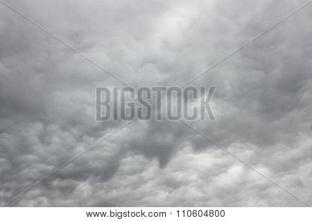 Grey Majestic Cloudscape