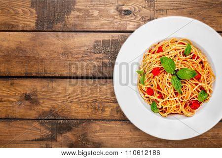 Spaghetti.