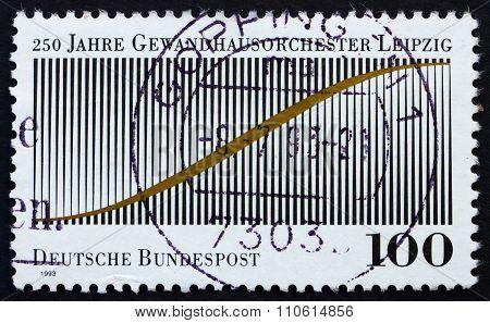 Postage Stamp Germany 1993 Leipzig Gewandhaus Orchestra