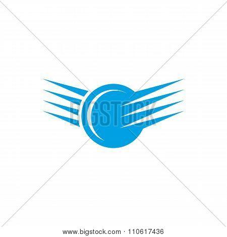 Abstract vector logo sign. Abstract shape logo icon. Tech logo. Technology logo.