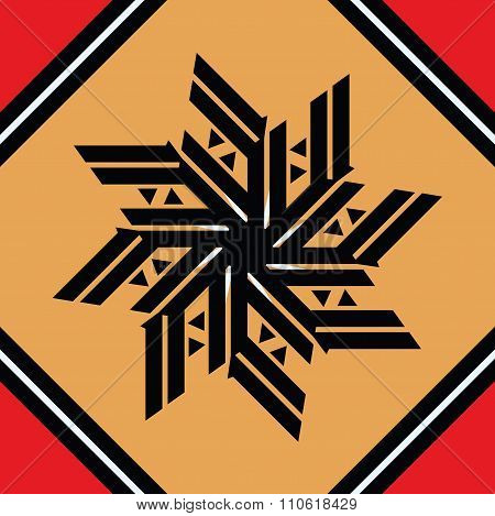 Star Icon - Seamless Pattern Christmas Decorative Element