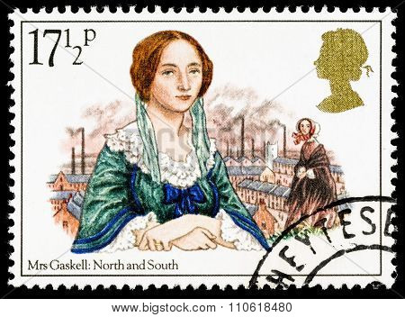 Britain Mrs Gaskell Postage Stamp