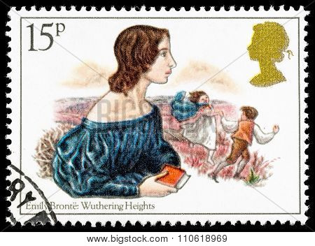 Britain Emily Bronte Postage Stamp