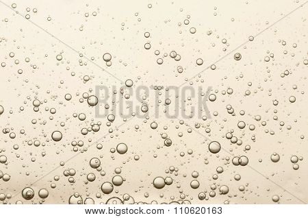 Many Small Champagne Bubbles