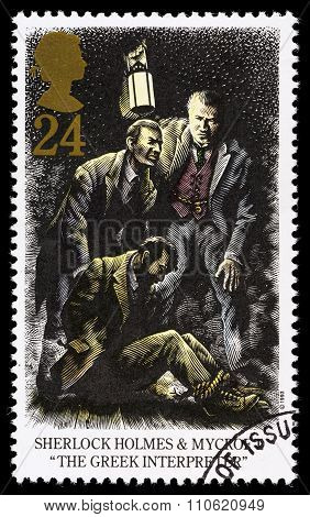 Britain Sherlock Holmes Postage Stamp