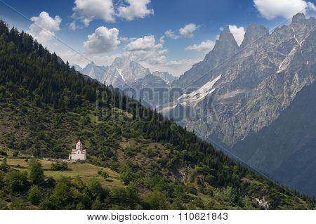 Caucasus mountines