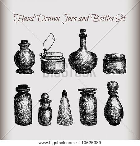 Vintage Jars And Bottles