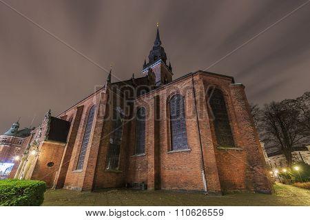 The Famous Church Of The Holy Spirit Of Copenhagen, Denmark