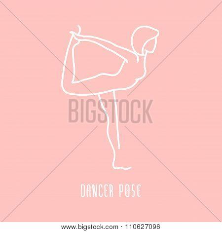Linear Yoga Icon