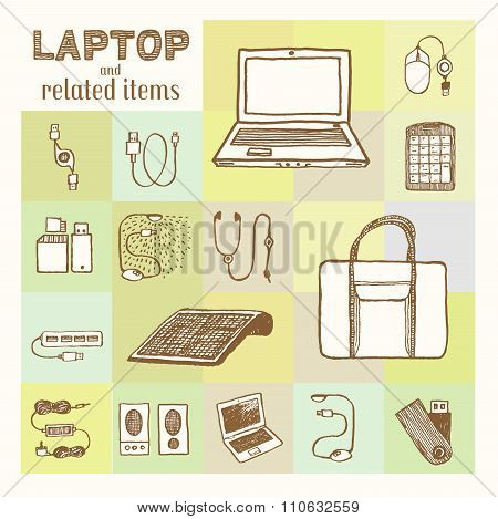 Laptop and related accessories