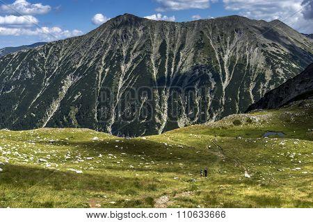 Amazing Panorama to Todorka Peak, Pirin Mountain