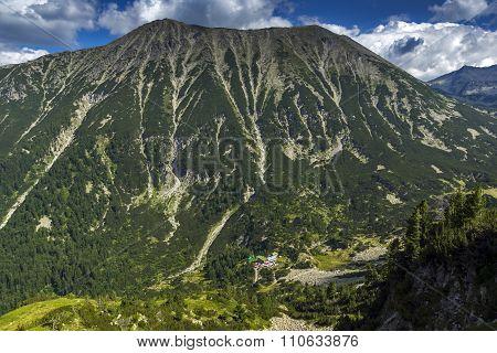 Summer landscape of Todorka Peak, Pirin Mountain