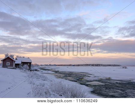 KUKKOLAFORSEN, SWEDEN ON DECEMBER 14
