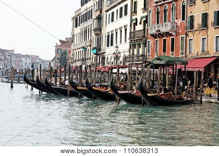Grand Channel In Venice