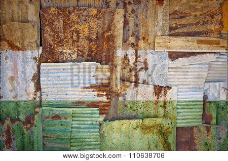 Corrugated Iron Niger Flag