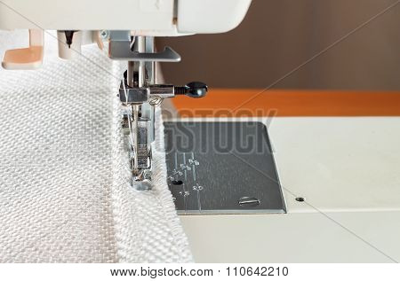 Sewing Machine And Decorative Edging Cord.