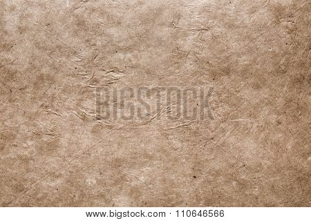 Fine art textured background based on handmade rustic paper