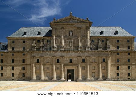 Royal Monastery Of San Lorenzo De El Escorial, Madrid In Spain