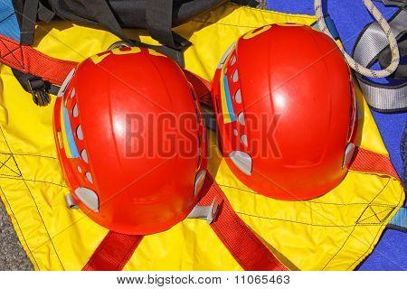 Rescueres's Protective Helmets