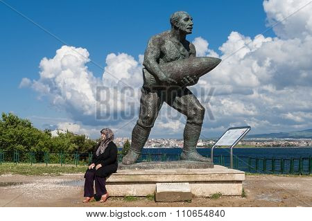 Memorial Sculpture In Turkey
