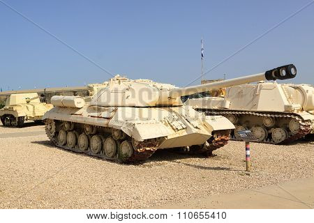 Latrun, Israel - April 02, 2010: Is-3 In Yad La-shiryon