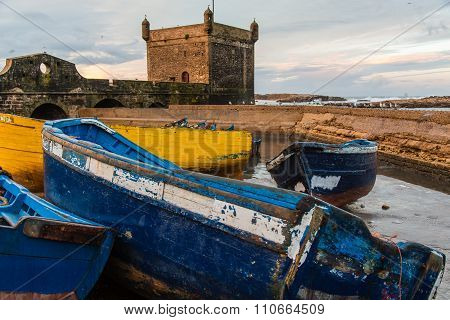 At The Port Of Essaouira, Morocco
