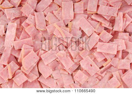 close up of the ham
