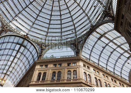 Galleria Umberto I, Public Shopping And Art Gallery In Naples, Italy