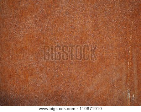 Brown Rusted Steel Background