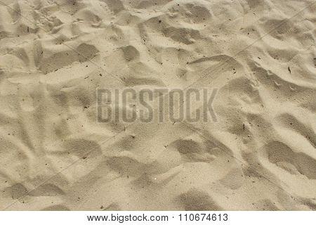 Yellow Sand In The Desert