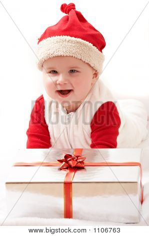 Baby And Christmas Pesents