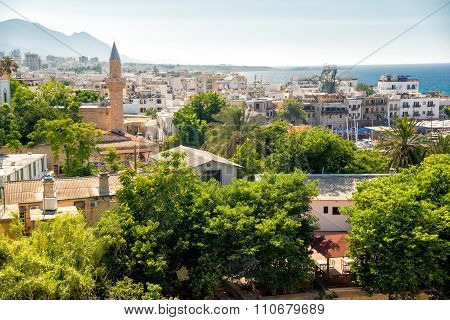 View Of Old Town Of Kyrenia. Cyprus